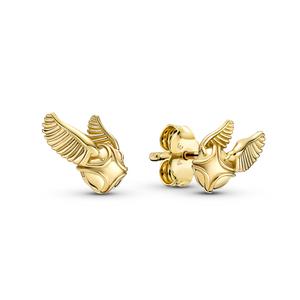 Bilde av Harry Potter, Golden Snitch Stud Earrings