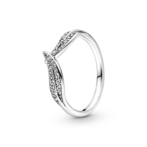 Bilde av Pandora leaves silver ring